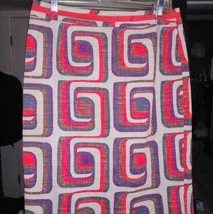 Boden Linen skirt